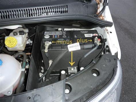 Autobatterie Masse Plus Oder Minus by Batterie T5 Wiki