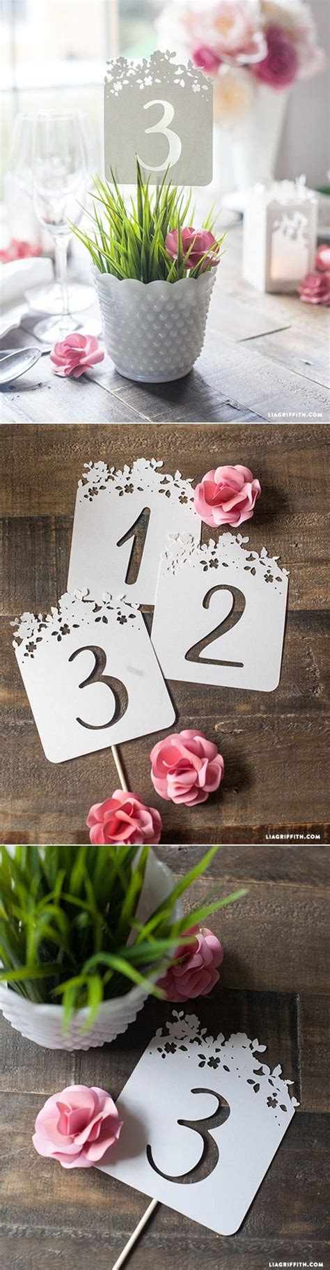 Diy Table Numbers by 20 Creative Diy Wedding Ideas For 2016