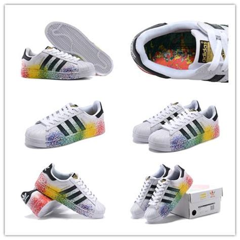 Shoes Superstar Raindrop Black 26 36 2016 size 36 45 originals superstar lgbt pride pack paint