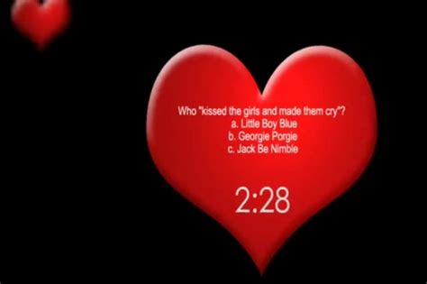 valentines day trivia questions choice valentines day countdown quiz 50 s crosseyed media