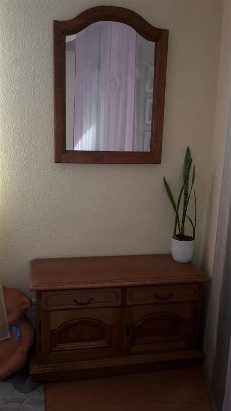 spiegel kommode kommode mit spiegel eiche rustikal in lorsch garderobe