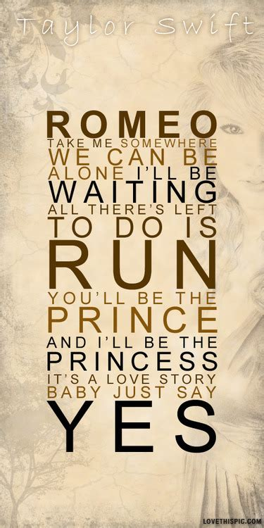 printable lyrics to love story by taylor swift taylor swift lyrics pictures photos and images for