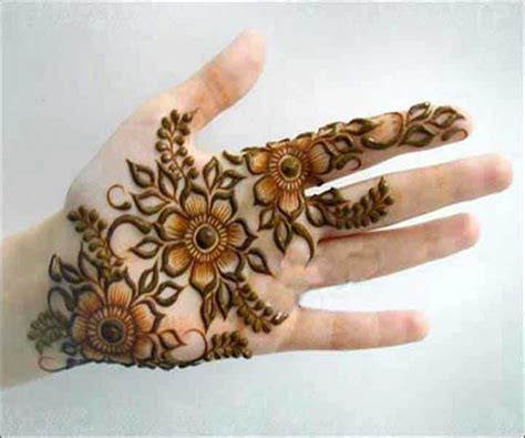 flower design mehndi latest and stylish floral mehndi designs for hands