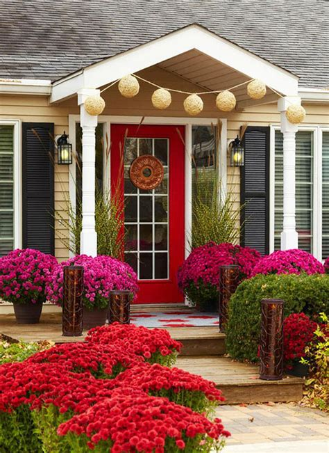 front door entrance ideas quiet corner