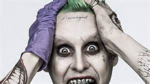 finally david ayer reveals why the joker has that dipshit
