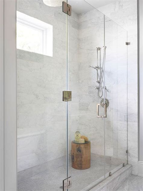 glass shower with bench bhg bathrooms glass shower enclosure glass shower