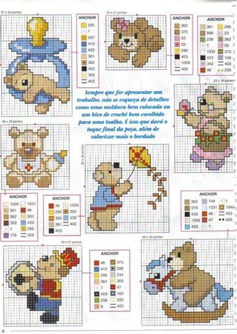 punto de cruz imagenes esquemas graficos y patrones 17 best images about beb 233 punto de cruz on pinterest