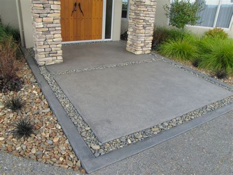 aggregate concrete patio 1000 ideas about exposed aggregate on exposed
