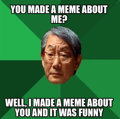 Creating Memes - meme creator my name is ling ping and this is my noodle