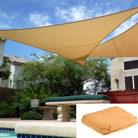 Awning Sails Waterproof by Waterproof Sun Shade Sails Roof Top Canvas Garden Shade