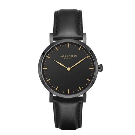 Watches Black josephine 183 183 all black leather