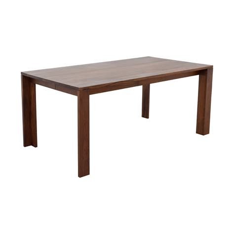 dwr dining table 66 design within reach dwr solid walnut dining