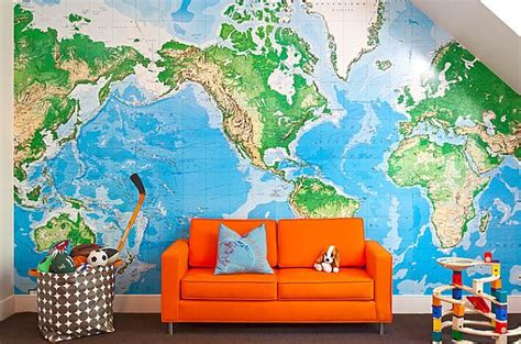 map for room how to use maps in home decor decorations tree