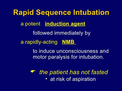 define induction sequence define rapid sequence induction 28 images rapid sequence intubation cme oxygen therapy
