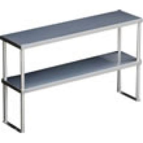 caterlogic riser shelf 2 tier neutral 1100mm rdn1100
