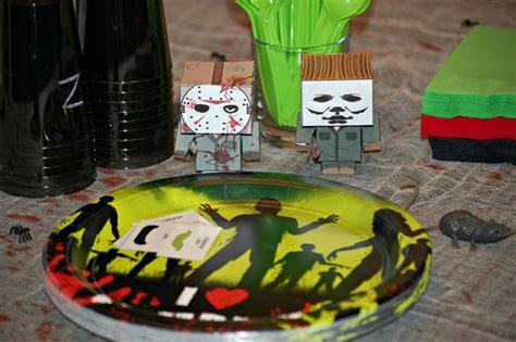 zombie themed birthday party zombie horror movie themed birthday party games