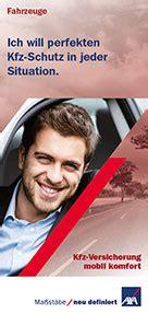 Axa Online Autoversicherung by Kfz Versicherung G 252 Nstige Autoversicherung Axa