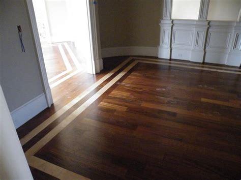 Tile Inlay In Wood Floor Kitchen   Morespoons #c70caca18d65