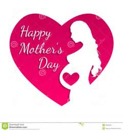 happy mothers day greeting card stock vector image 40633580