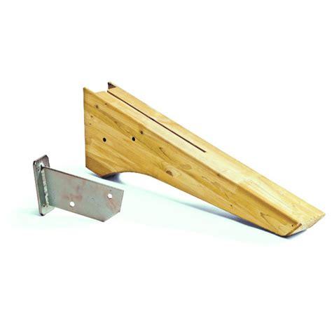mensole di legno grezzo mensola ala in abete grezzo 106x12x23h cm