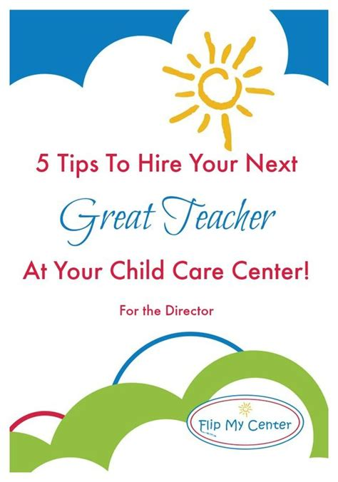 questions for child care center candidates