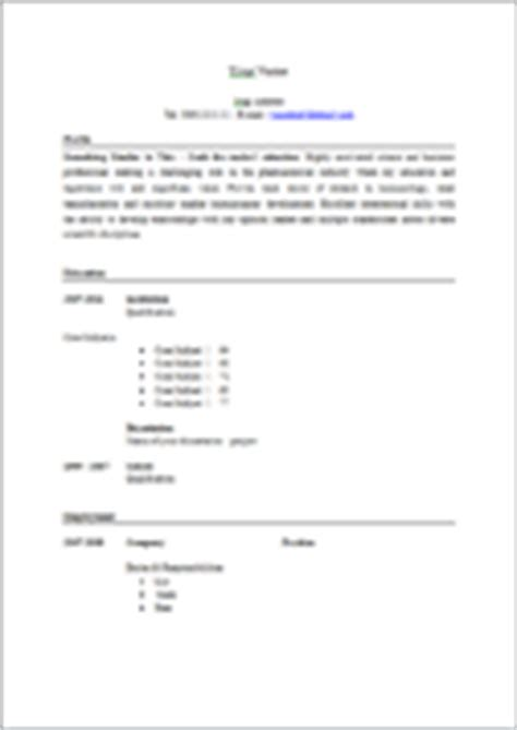 layout for cv ireland cv templates free ireland resume cv templates free