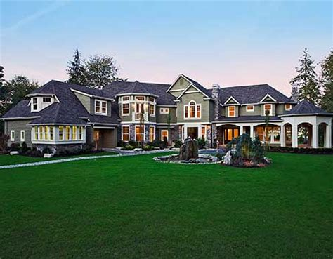 huge luxury homes plan w2389jd photo gallery premium collection corner
