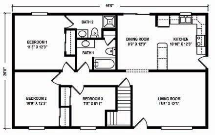 north mountain modular raised ranch floor plans north mountain modular ranch floor plans