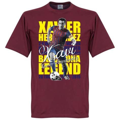 Kaos T Shirt Xavi Hernandez Xavi xavi hernandez legend t shirt maroon