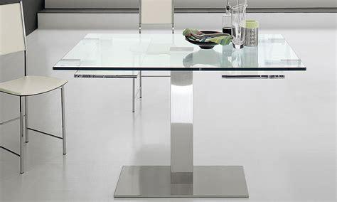 tavolo allungabili elvis drive il tavolo in vetro allungabile cattelan italia