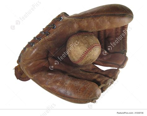 baseball glove  ball photo
