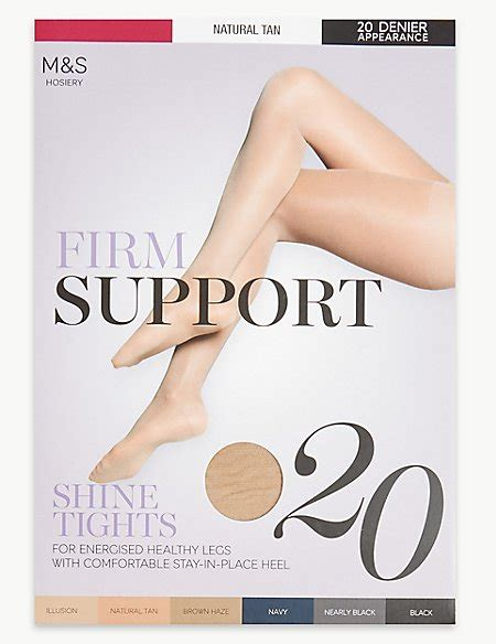 skin colored tights 20 denier firm support tights m s collection m s