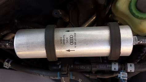 audi fuel filter q7 tdi are there 2 fuel filters to change audiworld