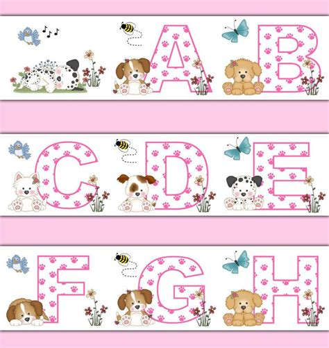 Alphabet Wall Decals For Nursery 298 Best Alphabet Letter Wall Decals Images On Pinterest