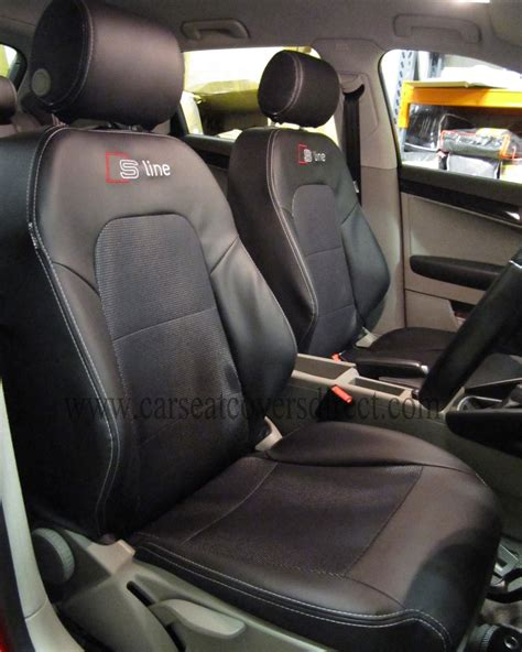 audi upholstery audi a3 seat covers black s line car seat covers direct