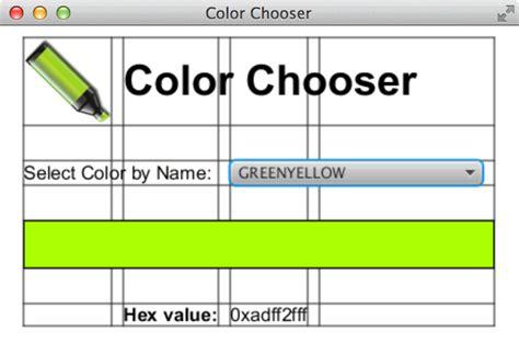 grid layout in javafx javafx colorchooser
