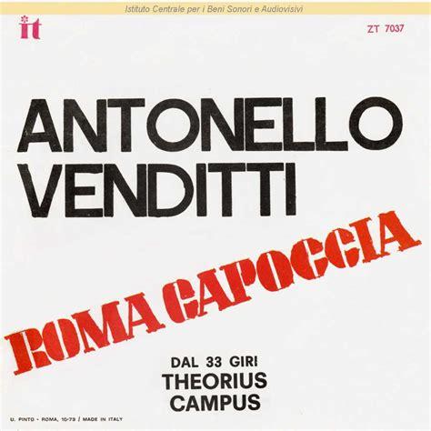 testo roma capoccia antonello venditti discografia cover testi
