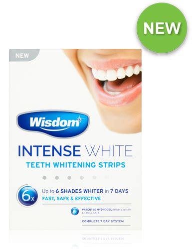 intense white teeth whitening strips wisdom