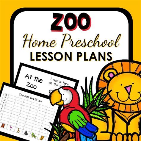 zoo theme home preschool lesson plans home preschool 101