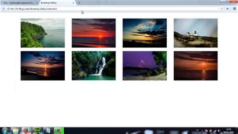 tutorial bootstrap lightbox twitter bootstrap how to create a responsive lightbox