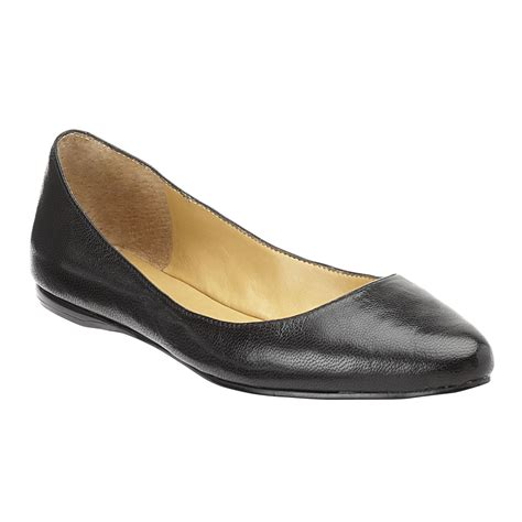nine west shoes flats nine west speakup pointed toe flats in black lyst