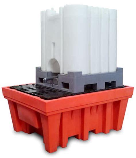vasche di plastica vasca raccolta in plastica ibc 1000 litri con spazio per