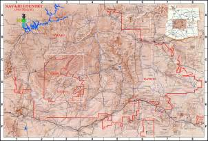 lapahie 6 5 map of the navajo nation size