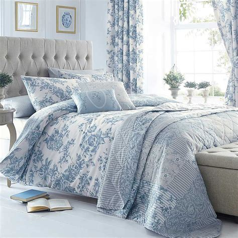 Blue Quilt Cover Blue Kimberley Duvet Cover Standard Pillowcase Set By