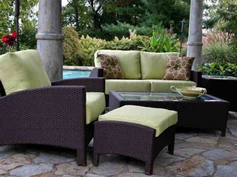 wicker look patio furniture best outdoor wicker patio furniture sets decor