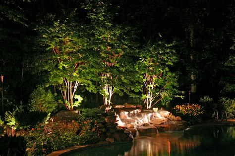 Light On Landscape Landscape Lighting Grand Rapids Pathway Lights