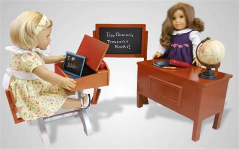 american doll desk set teacher desk and play set for 18 quot american