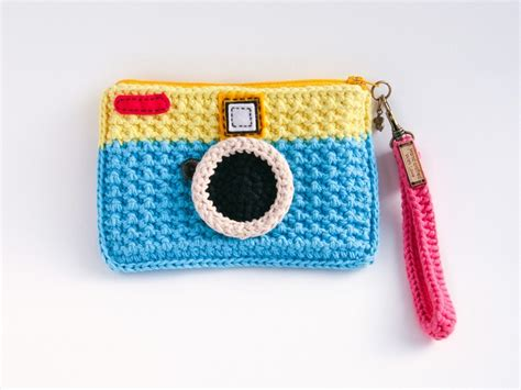 crochet camera bag pattern 12 best crochet camera case images on pinterest crochet