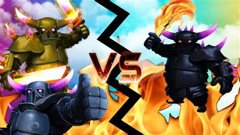 imagenes ocultas de clash of clans clash of clans pekka vs pekka quot round 2 must watch