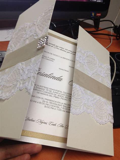 tendencias para invitaciones de boda quot cl 225 sico atemporal quot especial 2018 invitaciones de boda con encaje wedding invitations invitaciones para boda